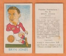 Wales Bryn Jones Arsenal